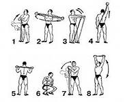 Упражнения с жгутом